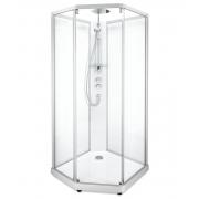 Душевая кабина Ido Showerama 10-5 Comfort (90х90) (профиль серебристый, прозрачное стекло)