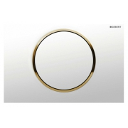 Кнопка смыва Geberit Sigma 10 115.758.KK.5 белый / золото