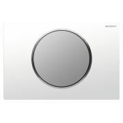 Кнопка смыва Geberit Sigma 10 115.758.KL.5 белый / хром матовый