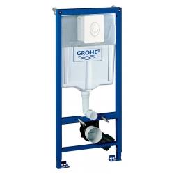 Система инсталляции для унитазов Grohe Rapid SL 38722001 4 в 1 с кнопкой смыва