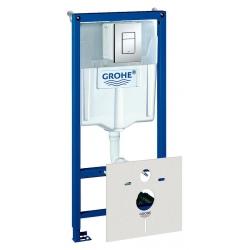 Система инсталляции для унитазов Grohe Rapid SL 38775001 4 в 1 с кнопкой смыва
