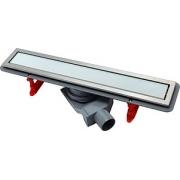 Душевой лоток Pestan Confluo Premium Line 650 белое стекло/сталь