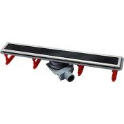 Душевой лоток Pestan Confluo Premium Line 750 черное стекло/сталь