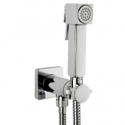 Гигиенический душ Bossini Cube Brass (E38001.030) со смесителем