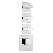 Термостат для ванны Bossini Outlets (Z033205.030) на три потребителя