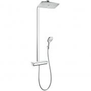 Душевая система Hansgrohe Raindance Showerpipe 360 (27112400) (полка белое покрытие)