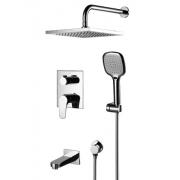 Смеситель для ванны Lemark Shift (LM4322C) скрытого монтажа (комплект)