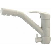 "Zorg Смеситель для кухни ""Clean Water ZR 400 KF-12"" серый шелк"