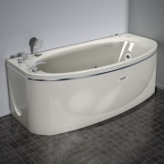 Акриловая ванна Радомир Неаполи Chrome