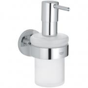 Дозатор для жидкого мыла Grohe Essentials (40448001) с держателем