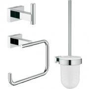 Набор аксессуаров для ванной комнаты Grohe Essentials Cube (40757001)