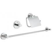 Набор аксессуаров для ванной комнаты Grohe Essentials (40775001)