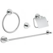 Набор аксессуаров для ванной комнаты Grohe Essentials (40776001)