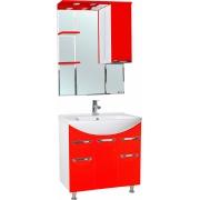 Мебель для ванной Bellezza Альфа 75 красная