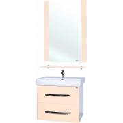 Мебель для ванной Bellezza Рокко 60 подвесная бежевая 2 ящика