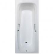 Чугунная ванна Aqualux (180x80)  SW-012 с отверстиями под ручки