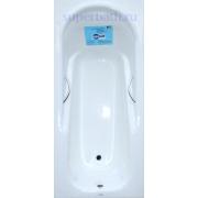 Чугунная ванна Aqualux (170x80) ZYA 19 с отверстиями под ручки