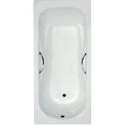 Чугунная ванна Artex Mali (170x75) с отверстиями под ручки