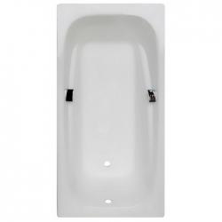 Чугунная ванна Castalia Emma (180x85) с отверстиями под ручки