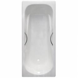 Чугунная ванна Castalia Paola (170x75) с отверстиями под ручки