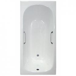 Чугунная ванна Castalia Classic (150x70) с отверстиями под ручки