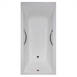 Чугунная ванна Castalia Prime (170x75) с отверстиями под ручки