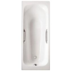 Чугунная ванна Jacob Delafon Melanie 160x70 E2935 с отверстиями под ручки