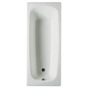 Чугунная ванна Roca Continental 140x70 с антискольжением