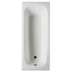 Чугунная ванна Roca Continental 160x70 с антискольжением
