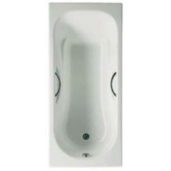 Чугунная ванна Roca Malibu 170х75 с отверстиями под ручки