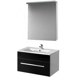 """Dreja Мебель для ванной """"Aston S 60"""" черная"""