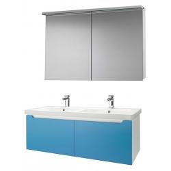 """Dreja Мебель для ванной """"Color 125"""" 2 ящика голубой глянец"""