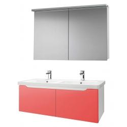 """Dreja Мебель для ванной """"Color 125"""" 2 ящика оранжевый глянец"""