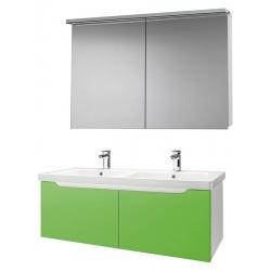 """Dreja Мебель для ванной """"Color 125"""" 2 ящика зеленый глянец"""