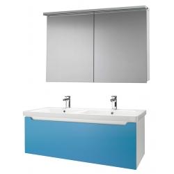 """Dreja Мебель для ванной """"Color 125"""" голубой глянец"""