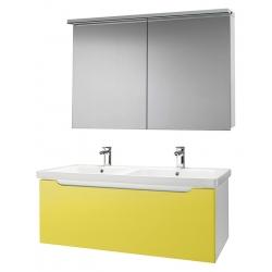 """Dreja Мебель для ванной """"Color 125"""" желтый глянец"""