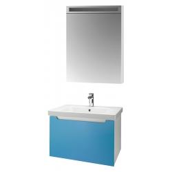 """Dreja Мебель для ванной """"Color 60"""" голубой глянец"""