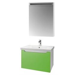 """Dreja Мебель для ванной """"Color 60"""" зеленый глянец"""