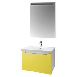 """Dreja Мебель для ванной """"Color 60"""" желтый глянец"""