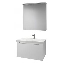 """Dreja Мебель для ванной """"Color 75"""" белый глянец"""