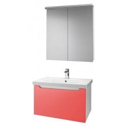 """Dreja Мебель для ванной """"Color 75"""" оранжевый глянец"""