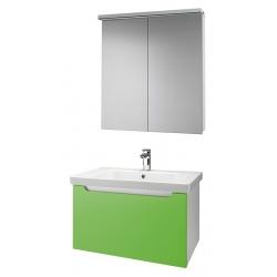 """Dreja Мебель для ванной """"Color 75"""" зеленый глянец"""