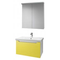 """Dreja Мебель для ванной """"Color 75"""" желтый глянец"""
