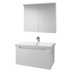 """Dreja Мебель для ванной """"Color 90"""" белый глянец"""
