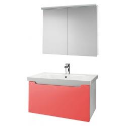 """Dreja Мебель для ванной """"Color 90"""" оранжевый глянец"""
