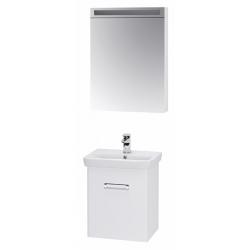 """Dreja Мебель для ванной """"Door 55"""" белая"""