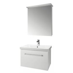 """Dreja Мебель для ванной """"Inn 60"""" белый глянец"""