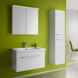 """Dreja Мебель для ванной """"Inn 75"""" белый глянец"""