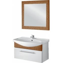 "Dreja Мебель для ванной ""Ornament 105"" декор бронза"