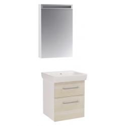 "Dreja Мебель для ванной ""Q max 55"" береза"